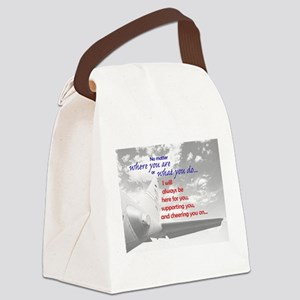 Always be Here Canvas Lunch Bag