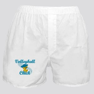 Volleyball Chick #3 Boxer Shorts