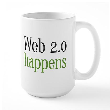 SiNuS BRaDy Large Web 2.0 Happens Mug