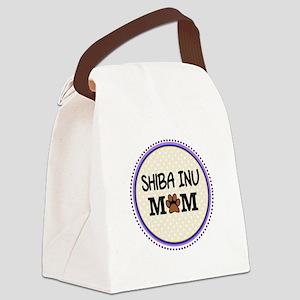 Shiba Inu Dog Mom Canvas Lunch Bag