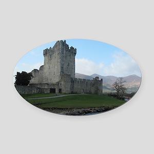 Ross Castle Oval Car Magnet