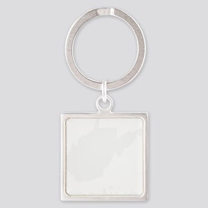 WVnative Square Keychain