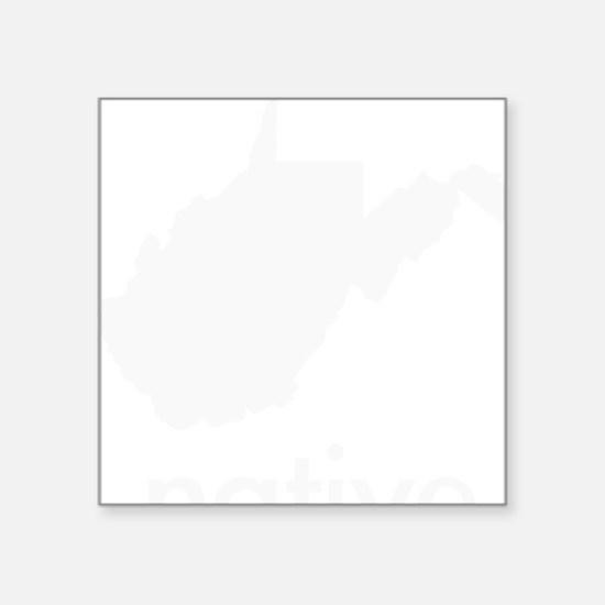 """WVnative Square Sticker 3"""" x 3"""""""