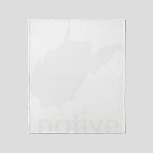 WVnative Throw Blanket