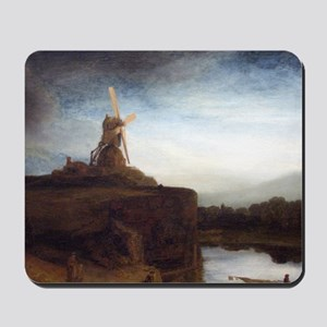 Rembrandt The Mill Mousepad