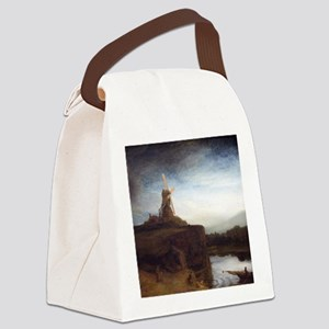 Rembrandt The Mill Canvas Lunch Bag