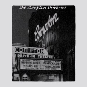 Compton Drive-In Throw Blanket