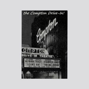 Compton Drive-In Rectangle Magnet
