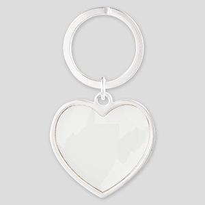 WVblank Heart Keychain