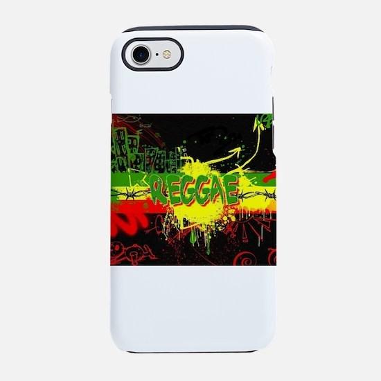 Raggae Design iPhone 7 Tough Case