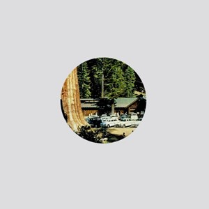 Retro RedWood Park Mini Button