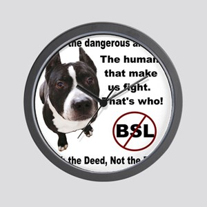 Who is the most dangerous animal? Wall Clock