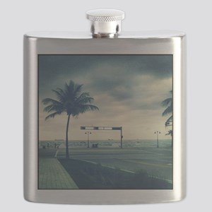 Fort lauderdale beach Flask