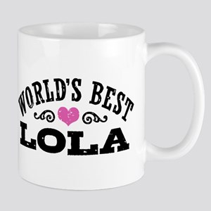 World's Best Lola 11 oz Ceramic Mug