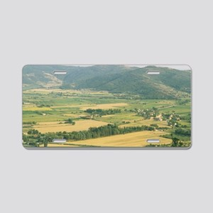 Tuscany Countryside Aluminum License Plate