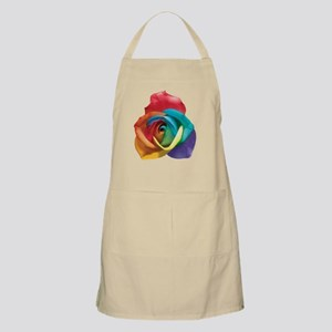 Rainbow Rose Apron
