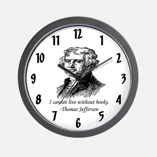 """""""Must Have Books"""" Wall Clock"""