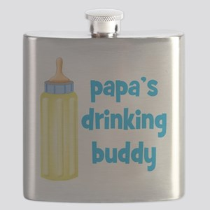 Papas Drinking Buddy Flask