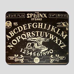 Vintage Sphinx Ouija Board Mousepad