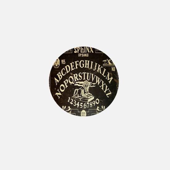 Vintage Egyptian style Sphinx Ouija Bo Mini Button