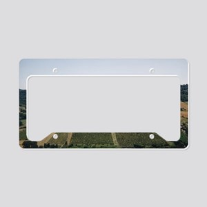 Tuscan Countryside Vista License Plate Holder