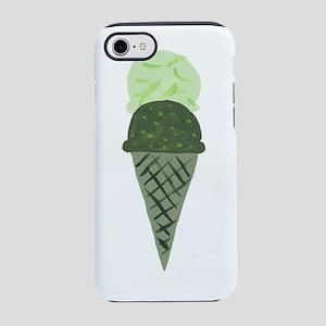 Green Ice Cream Cone iPhone 7 Tough Case