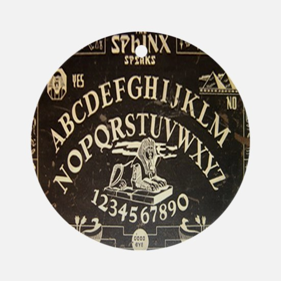 Vintage Egyptian style Sphinx Ouija Round Ornament