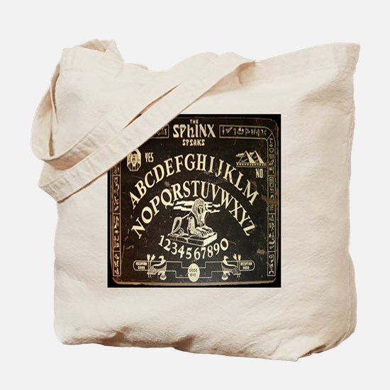 Vintage Egyptian style Sphinx Ouija Board Tote Bag