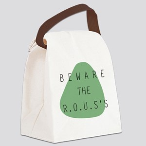 beware the ROUS Canvas Lunch Bag