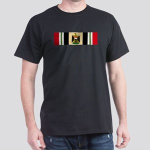 Iraqi Freedom campaign ribbon Eagle Dark T-Shirt