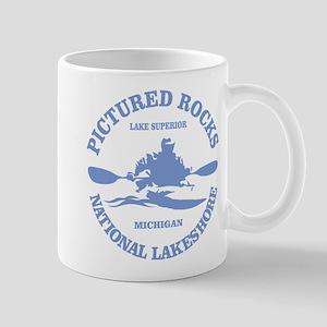 Pictured Rocks (rd) Mugs