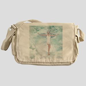 sa_shower_curtain Messenger Bag