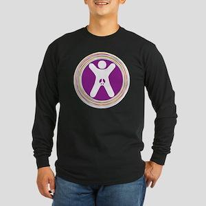 Genital Integrity for All Long Sleeve Dark T-Shirt