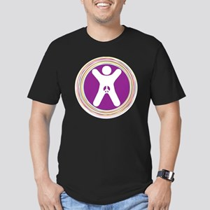 Genital Integrity for  Men's Fitted T-Shirt (dark)