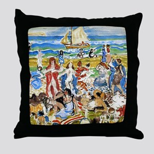 Maurice Prendergast Throw Pillow
