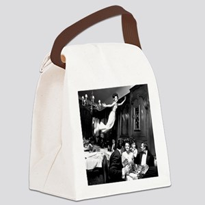 The Flying Dinner Canvas Lunch Bag