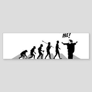 Jesus---Follow-Me Sticker (Bumper)