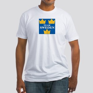 Team Sweden 2 Fitted T-Shirt