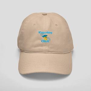 Waterskiing Chick #3 Cap