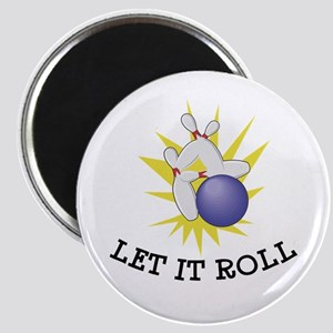 Let It Roll Bowling Magnet