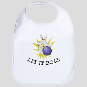 Let It Roll Bowling Bib