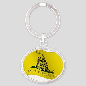 pocket Oval Keychain