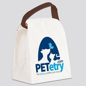 PETetry.com Canvas Lunch Bag