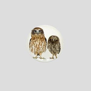 Owl Duo Mini Button