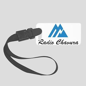 Radio Chavura Logo Small Luggage Tag