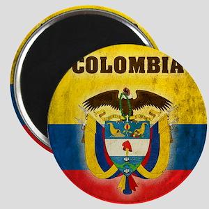 Vintage Colombia Magnet