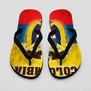 Vintage Colombia Flip Flops