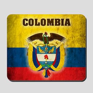 Vintage Colombia Mousepad
