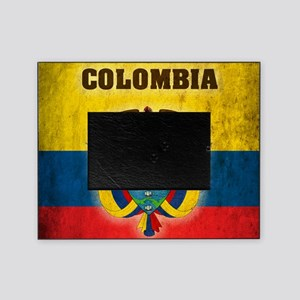 Vintage Colombia Picture Frame
