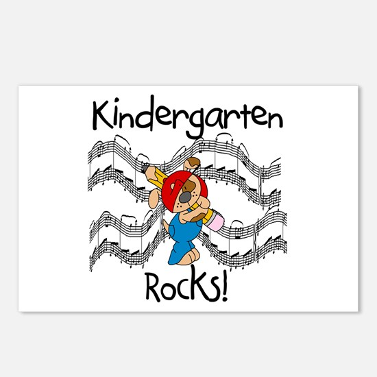Kindergarten Rocks Postcards (Package of 8)